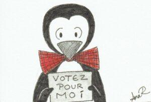 Pingouinformation 4 - votez pour moi