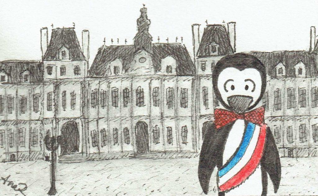 Big Penguin maire de Paris